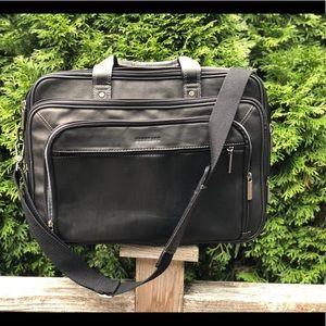 Heritage Soft Briefcase Genuine Leather EZ Scan